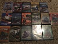 Steam train DVDs for sale