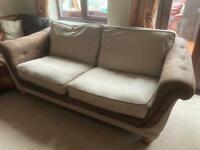 Beautiful three seater sofa
