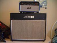 5 Watt All Valve / Tube Head For Electric Guitar + Line 6 1 X 12 Cabinet