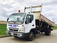 MITSUBISHI FUSO CANTER 75-7C18 'TIPPER' (2008 MODEL) '4.9 DIESEL - 7500 KG - 6 SPEED' (LOW MILES)