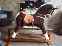 Gorgeous large child's rocking horse , excellent condition