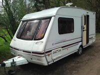 Swift challenger 480-2 berth in mint condition with moter mover