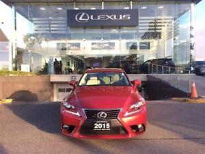 2015 Lexus IS 250 Premium Pkg AWD Backup Cam Bluetooth Sunroof
