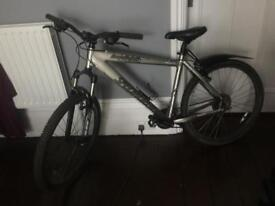 Specialized Hardrock sport mountain bike. Silver. Unused in some time.