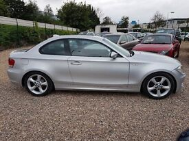 2008 BMW 120D AUTO COUPE LEATHER INTERIOR DIESEL