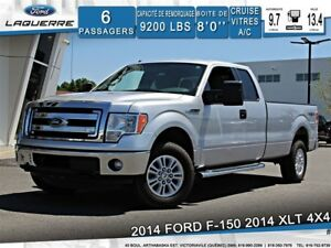 2014 Ford F-150 XLT**4X4*6 PLACES*BLUETOOTH*CRUISE*A/C**