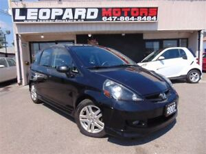 2007 Honda Fit Sport,Shifting Paddles,Alloys*No Accident*