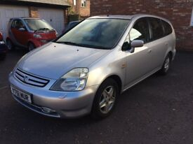 2001 HONDA STREAM 2.0 AUTOMATIC SEVEN SEATER, GOOD CONDITION FOR AGE AND MILEAGE.