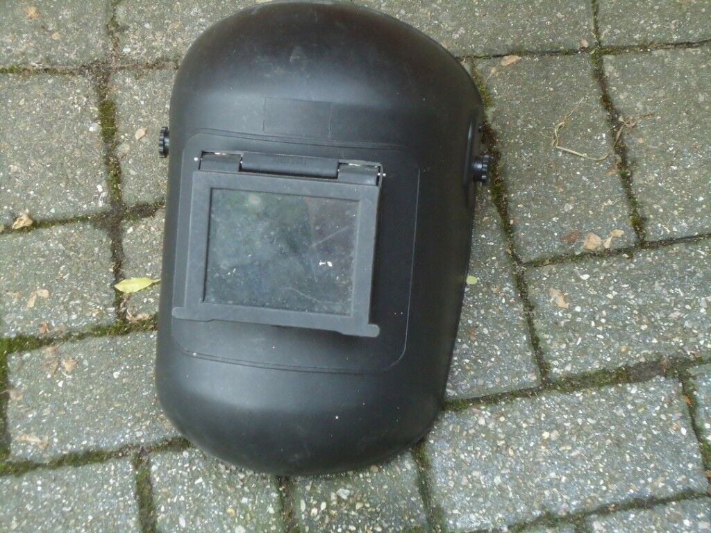 Welding Mask Pull Down For Mig Welder Arc In Very Good Condition