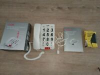 Corded Big Button Telephone