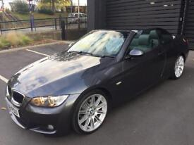 BMW 320i m sport convertible auto 2008 Low Miles