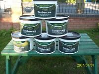 Fence and timber treatment 6 x 7,5 Litre Tubs never been Open £3 each or £15 for all 6