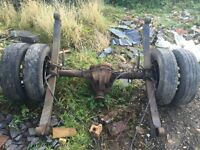 ford transit mk7 compete twin wheeler rear axel working order £275 ovno