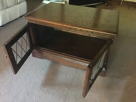 Old Charm Tudor Brown TV Cabinet