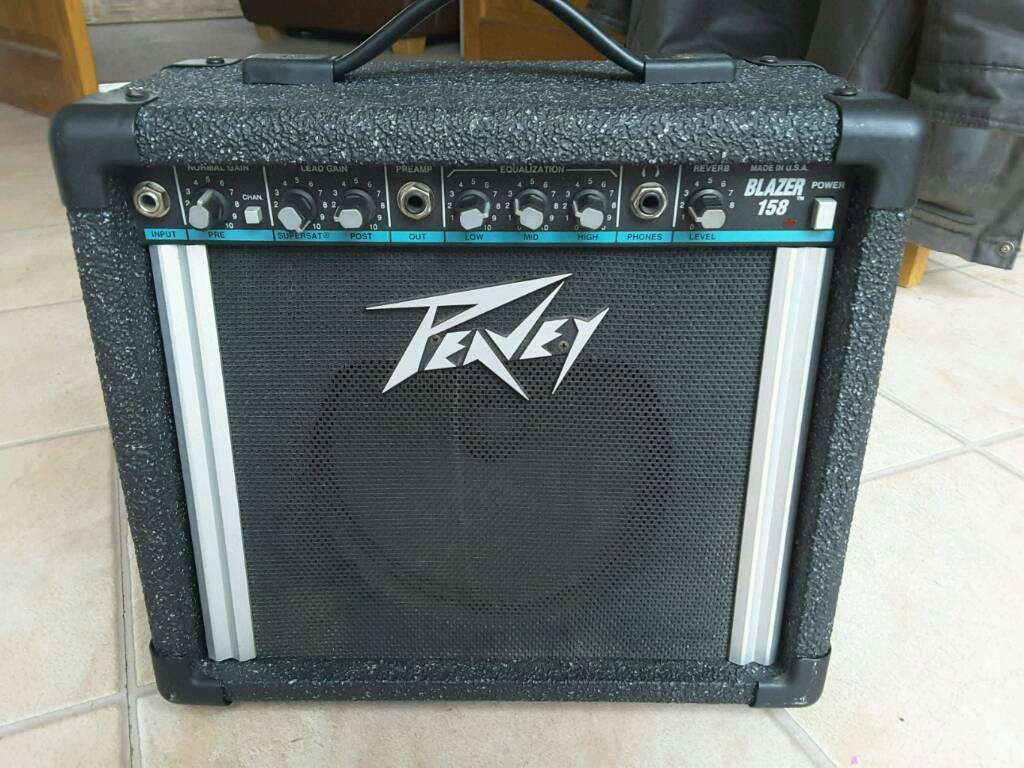 Peavey Blazer 158 Blue Stripe Guitar Amplifier In