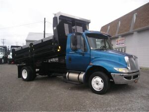 2009 International 4300 LoPro with New Dump Box