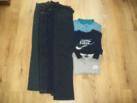 Boys Clothes Bundle - Jeans, Chinos & T-Shirts - Age 12 - 13 - Nike