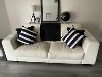 Two piece sofa (must collect)