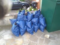 Hardcore bagged up - mix of stone sand and soil