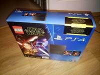 Sony PlayStation 4 500 GB Jet Black Star Wars Edition CUH 1216A Brand NEW