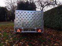 Trailer 7.7 x 4.1 with ramp - £850 inc vat