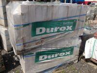 910 x New Durox Extra Long Lightweight Aircrete Blocks 620 x 215 x 100