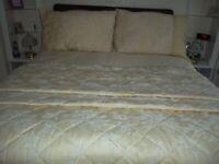 TWO kingsize duvet sets Plus quilt