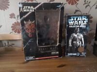 Star wars figure darth vader,darth maul.