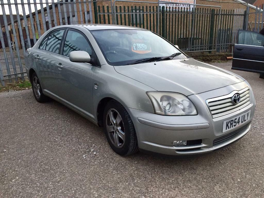 2004 Toyota Avensis diesel, long mot part ex to clear