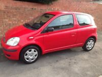 TOYOTA YARIS T3 VVT-i 1.3L 2004 REG FULL MOT, FULL SERVICE HISTORY AND TIDY INSIDE & OUT & HPi CLEAR