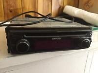 Kenwood Bluetooth CD MP3 player