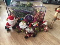 Christmas decorations job lot ideal for carboot