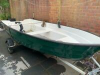 12 ft fishing boat with outboard