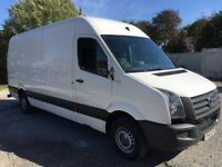 Volkswagen crafter van 2013 63 2.0 lwb high diesel 1 owner light damage runs starts drives no vat