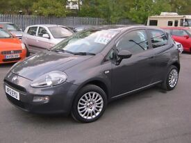 FIAT PUNTO POP 2012 LOW MILEAGE 26000 BARGAIN £2495 PX AND CARDS WELCOME