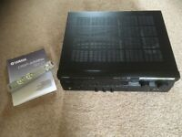 Yamaha DSP-A595a AV Amplifier, NS-P100 5.1 Ch speaker package & 4 adjustable speaker stands