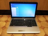 "Samsung RV510 Laptop 15.6"", 2.1GHz Dual Core, 3GB Ram, 500GB HDD"