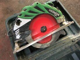 110v Hitachi 9 inch circular saw wood skill saw
