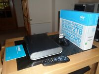 SkyBox + HD 2TB. (Newer Model). 3D Ready, Wi-Fi. As new condition.