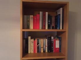 Oak bookshelf from Habitat