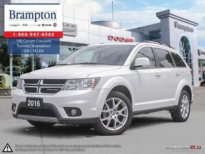 2016 Dodge Journey Limited   Backup Cam   2nd Row Screen   Sunro