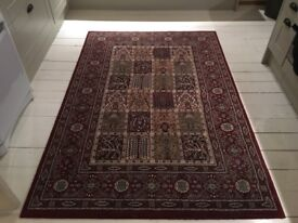 Set of 2 x IKEA Persian Style Rugs (1 Rug and 1 Runner)