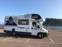 2004 FIAT DUCATO (656 CARIOCA) 6 BERTH MOTORHOME WITH DRIVE AWAY AWNING