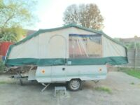 Conway cruiser pop up trailer