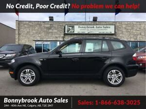 2007 BMW X3 3.0i leatherheated seats w/ panoramic sunroof