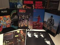 RECORDS WANTED, top prices paid for quality LP collections, 1960's to 1990's