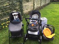 Graco EVO XT travel system - complete