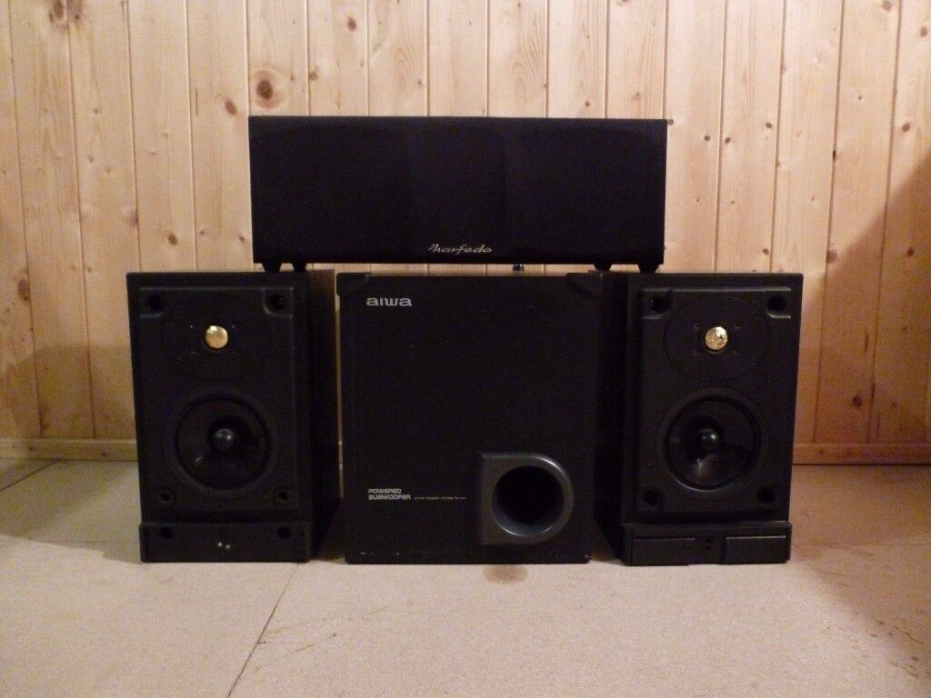 SIX LOUDSPEAKERS FOR STEREO,SURROUND 0R CINEMA