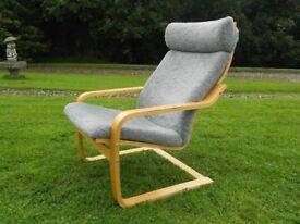 Beech Rocker Comfy Chair