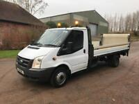 2011 Ford Transit lwb dropside with tail lift